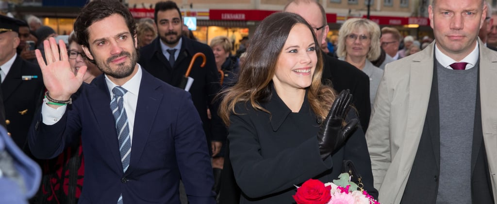 Prince Carl Philip and Princess Sofia of Sweden Stop and Smell the Roses in Värmland