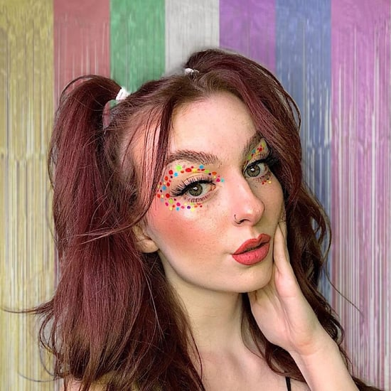 Confetti Eyeliner Makeup Trend Ideas and Photos