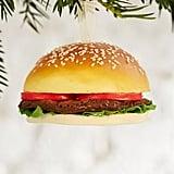 Plush Hamburger Ornament