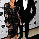 Pregnant Kim Kardashian & Kanye West Party on NYE in Vegas!