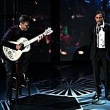"""Gael García Bernal Performs """"Remember Me"""" at Oscars 2018"""