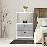 Sorbus Nightstand 2-Drawer Shelf Storage