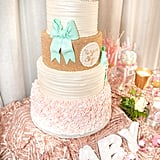 Tiered Textural Cake