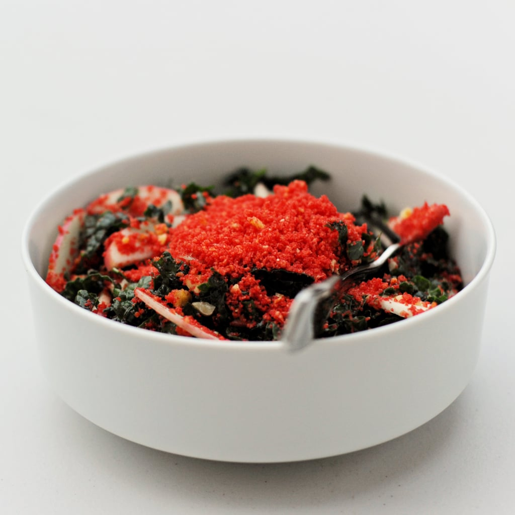 Flamin' Hot Cheetos Kale Salad
