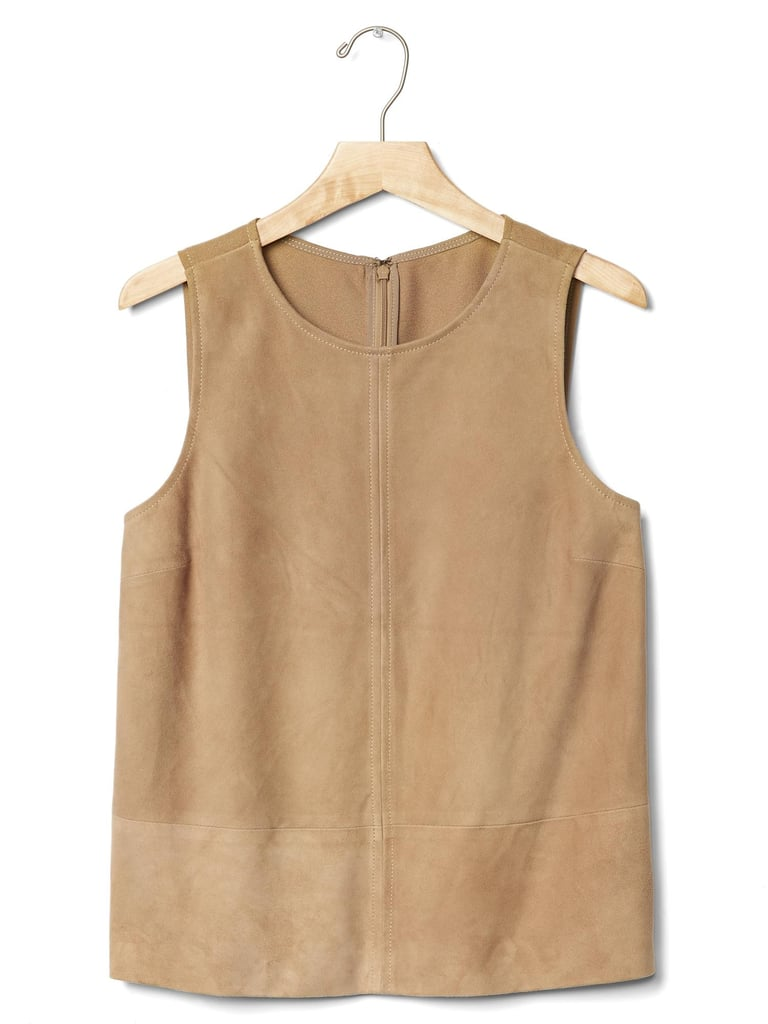 Suede tank ($248)