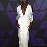 Lupita Nyong'o Tom Ford Dress at Governors Awards 2018