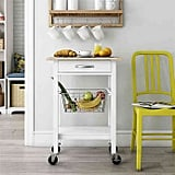 Dorel Living Fillmore Multi-Function Cart in White