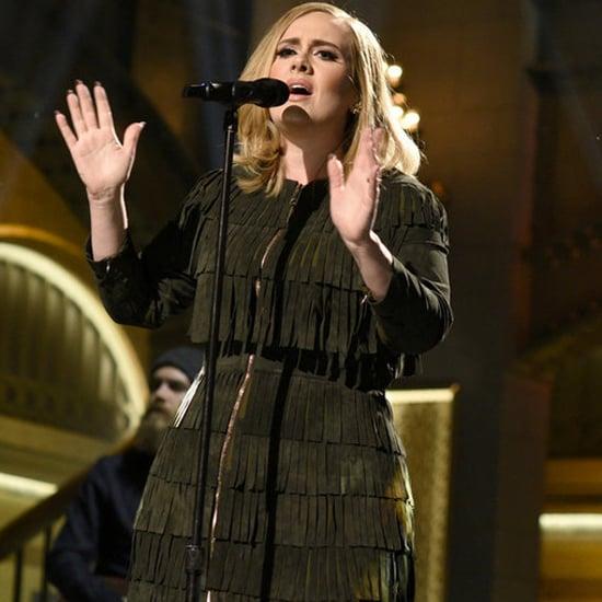 Adele's Fringe Dress on SNL