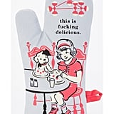 """This Is F*cking Delicious"" Oven Mitt"