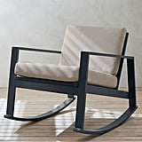 Pottery Barn Indio Metal Rocking Lounge Chair