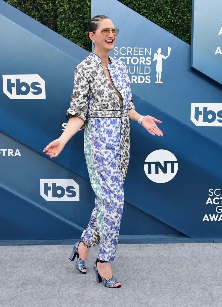 Jenna Lyons at the 2020 SAG Awards