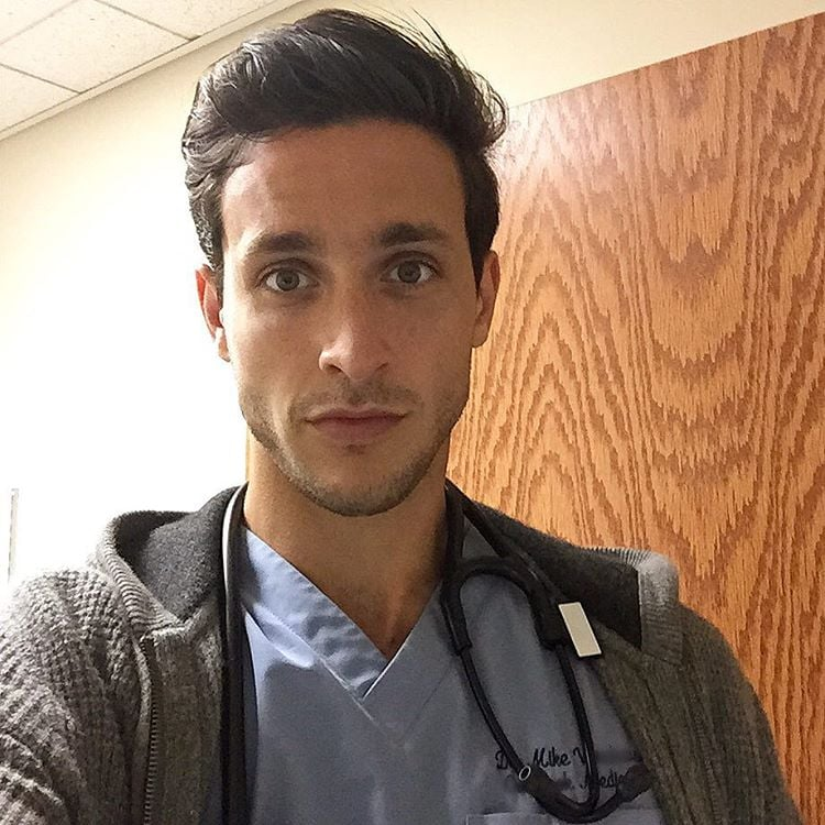 Sometimes Dr Mike Takes Selfies At Work  Hot Doctor