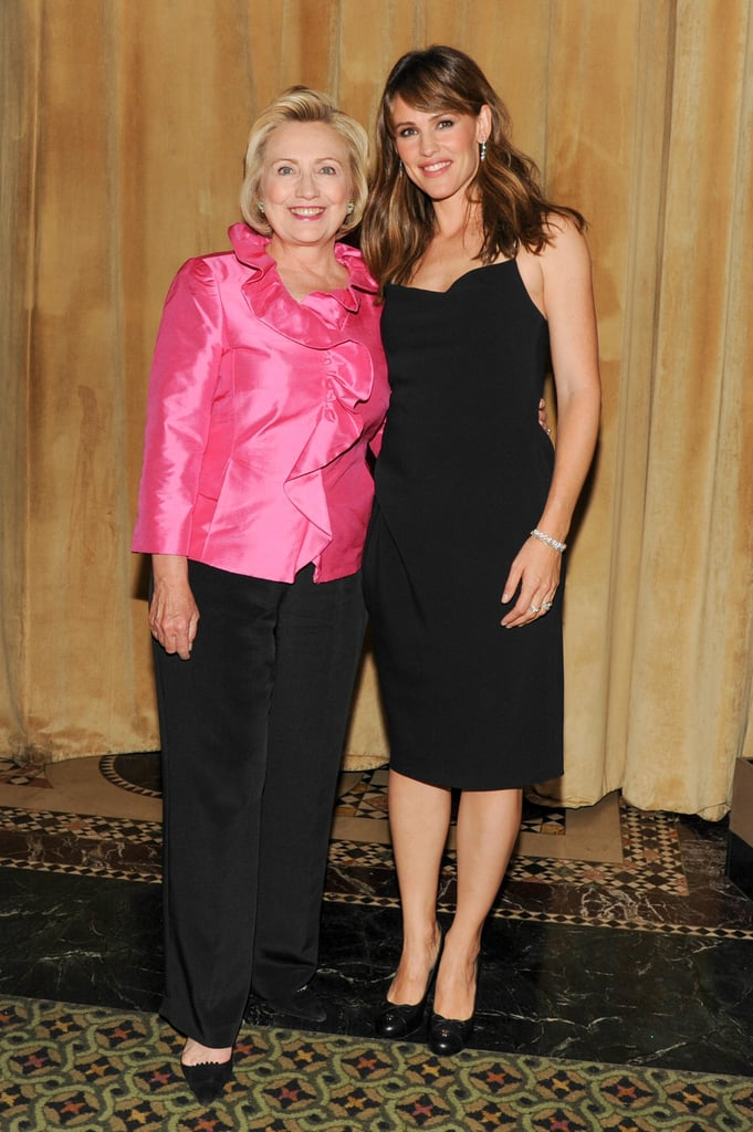 Jennifer Garner and Hillary Clinton teamed up at the Save the Children benefit gala in NYC.