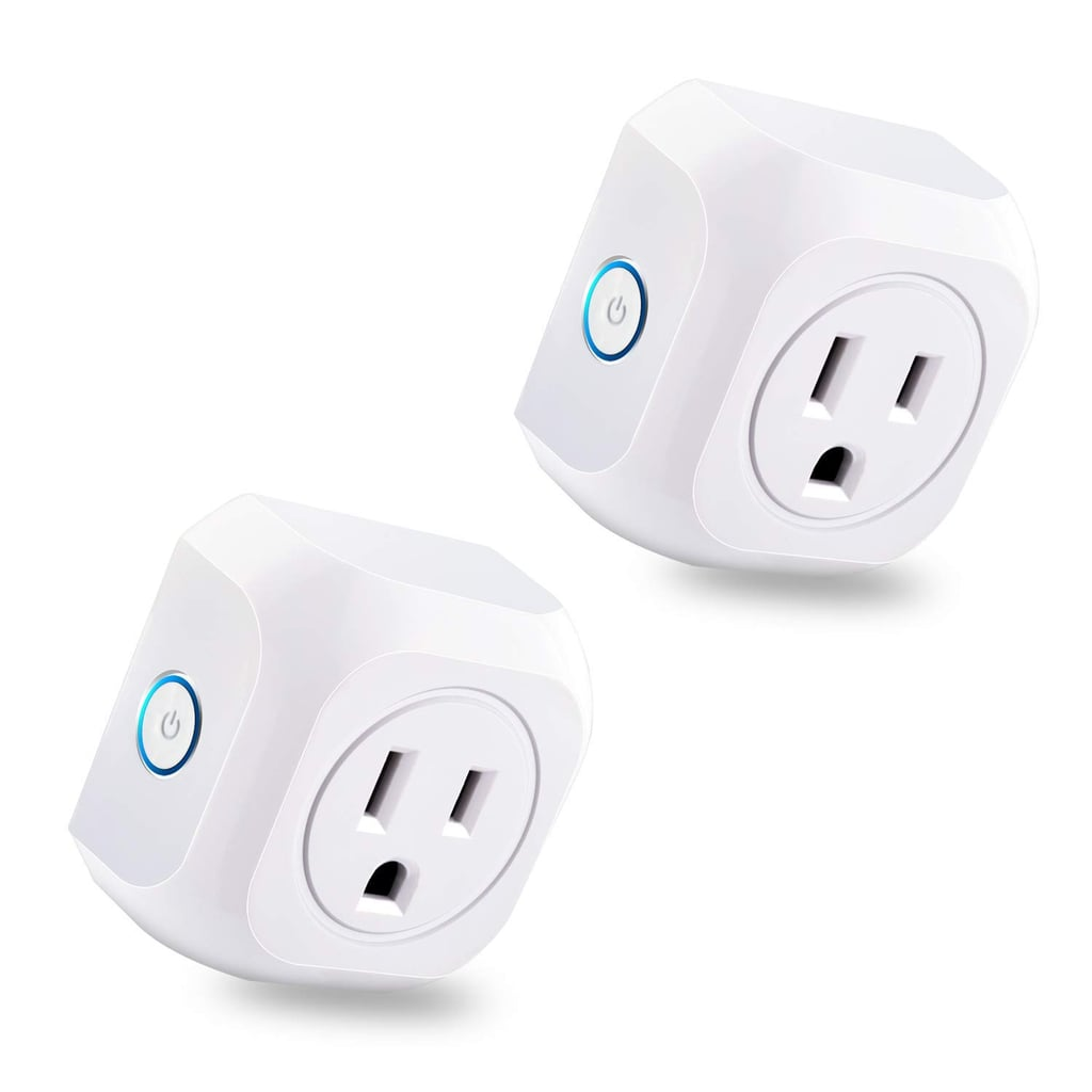 Smart Plug 2 Pack Wifi Enabled Mini Outlets