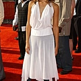 Early 2000s Fashion Trend: Dresses Over Jeans