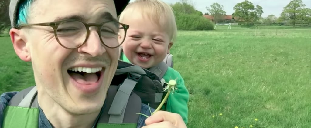 This Baby's Reaction to Seeing His First Dandelion Is Too Cute For Words