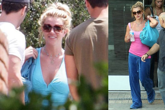 Photos of Britney Spears at the Gym, Nominated For Two VMAs