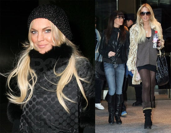 The Lohan Girls Grow Up Quick and LL's Drinking Again?