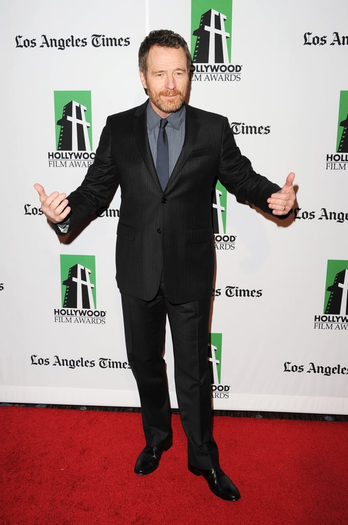 Bryan Cranston stepped out in LA for the Hollywood Film Awards gala.