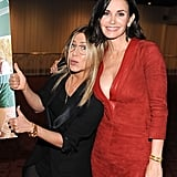 She showed support for Courteney Cox's directorial project at an LA screening in April 2015.
