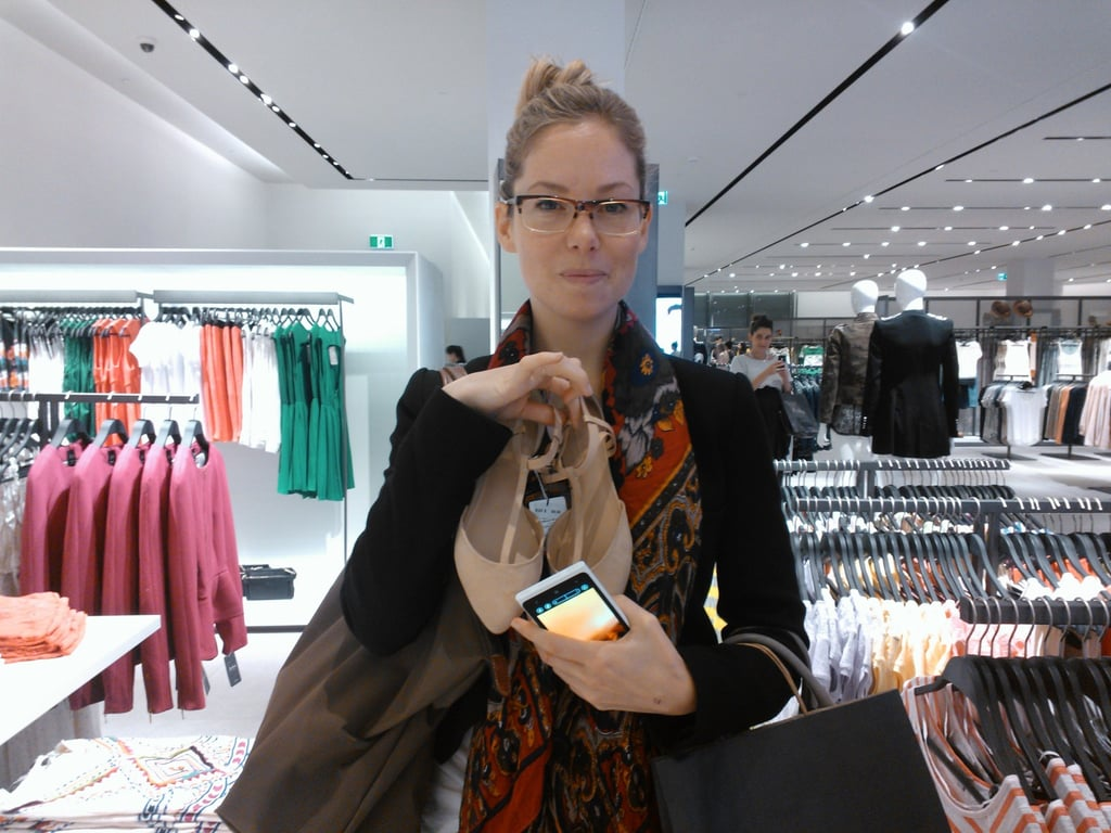 Ali may have gone a little nuts at the Zara Bondi Junction opening. Hey, no judgement, it's her job... kind of.