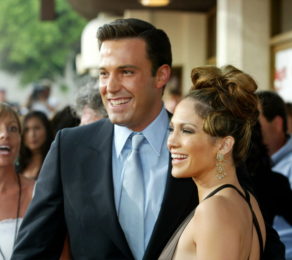"""Jennifer Lopez and Ben Affleck's recent reunion has us feeling like it's the 2000s all over again. The two famously dated in 2002 after meeting on the set of their movie Gigli and got engaged later that year. However, they never made it down the aisle as they split in January 2004 because of """"excessive media attention.""""  Fast-forward to present day, though, and Ben and Jen may be giving their love another shot. While nothing has been officially confirmed yet, the famous exes have started hanging out again. """"They have a strong connection. It's all been quick and intense, but Jennifer is happy,"""" People reported. As we wait to see where their relationship goes, let's take a walk down memory lane and look back at everything Ben and Jen have said about each other since their breakup, shall we?      Related:                                                                                                           Alex Rodriguez Has a Cheeky Response When Asked About J Lo and Ben Affleck's Reunion"""