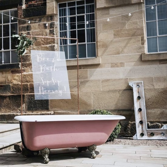 Rent This Pink, Alcohol-Filled Bathtub For Weddings