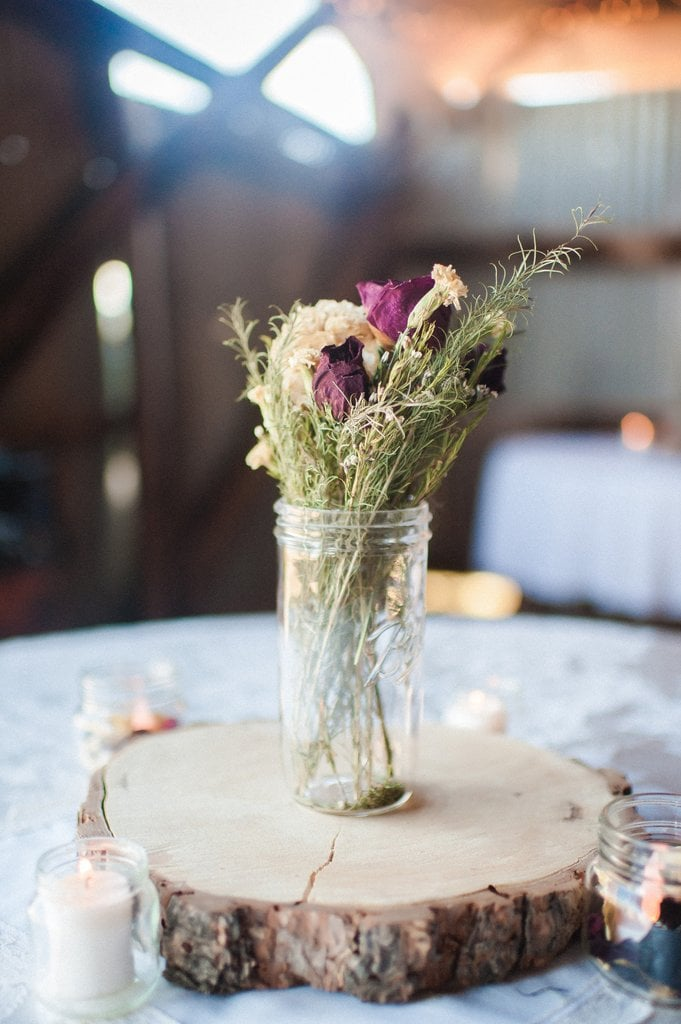 Wood Cookie Centerpieces Rustic Wedding Decor Popsugar