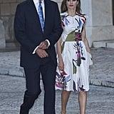 Even King Felipe VI Matched His Tie to Letizia's Ensemble