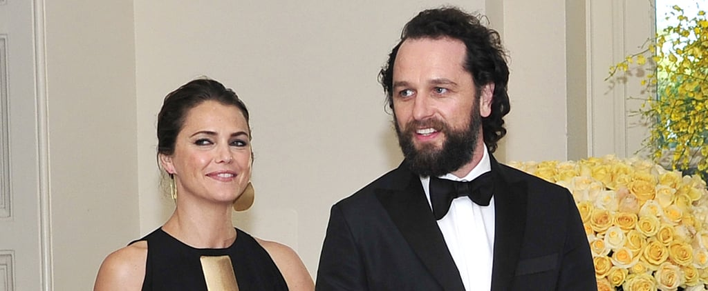 Keri Russell and Matthew Rhys Make a Glamorous Appearance at the White House