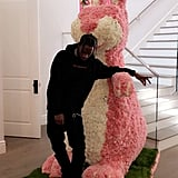 Kylie Jenner, Travis Scott, and Stormi Easter Photos 2018