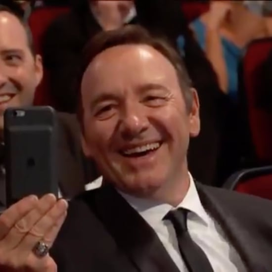 Kevin Spacey's Reaction to Julia Louis-Dreyfus's Emmys Win