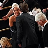 When Bradley Gave Lady Gaga a Kiss at the Oscars