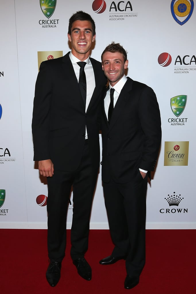 Patrick Cummins and Phillip Hughes