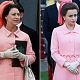 Princess Margaret and Helena Bonham Carter