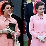 Princess Margaret and Helena Bonham Carter