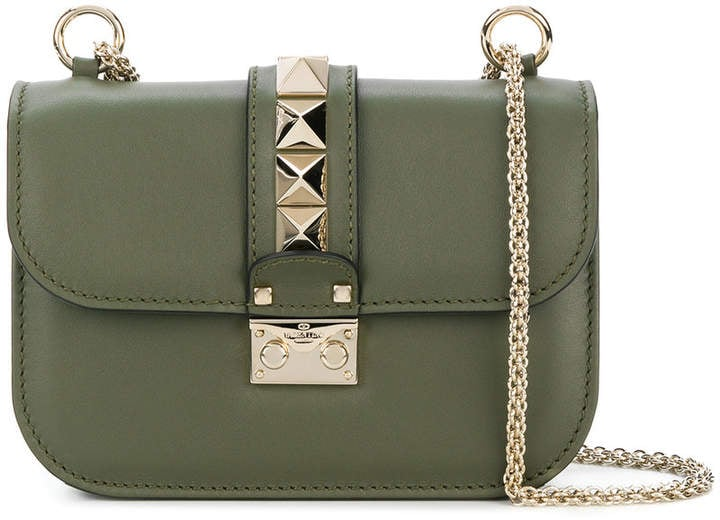 Valentino Rockstud Lock Cross-body Bag