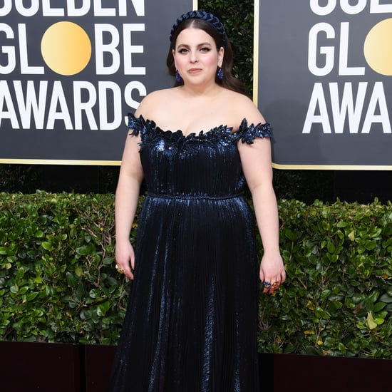 Beanie Feldstein's Dress at the Golden Globes 2020