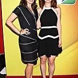 Tina Fey and Ellie Kemper