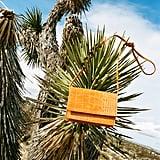 Jackie Croc Embossed Crossbody Bag