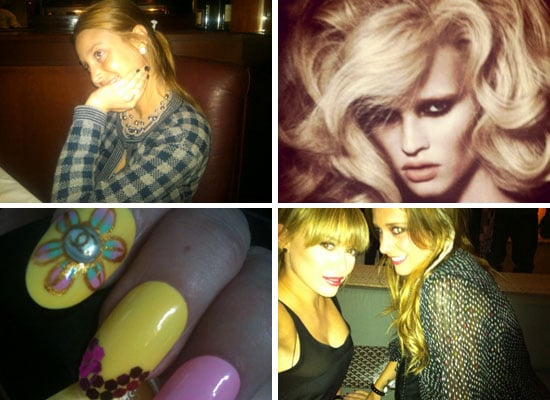 Celebrity Beauty Twitter Pictures from Marchesa, Allure Magazine, Hialry Duff, Sophy Robson and More