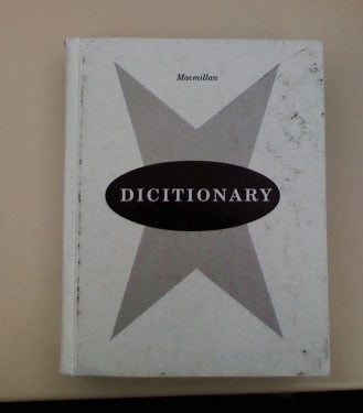 Dictionary Misspells Itself