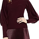 Vince Camuto Petite Women's Bubble-Sleeve Sweater