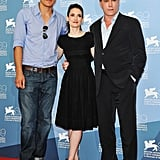 Winona Ryder posed with Michael Shannon and Ray Liotta at the Venice Film Festival.