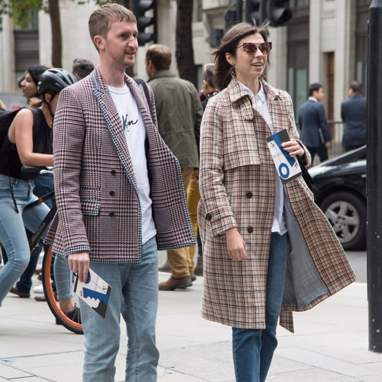 Plaid Coats For Fall 2017