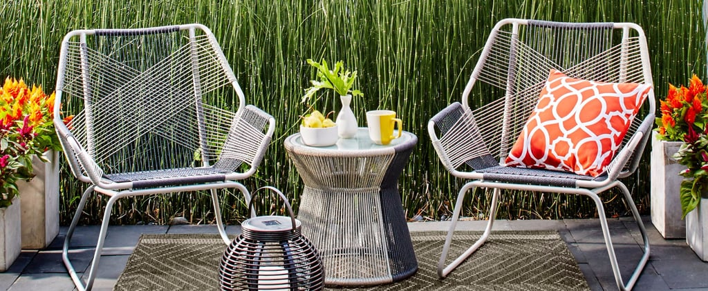 We Found These Insanely Cute Patio Sets at Target — Perfect For Small Living Spaces