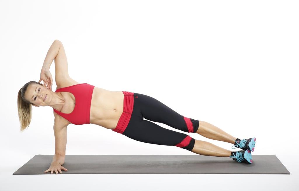 Circuit Three: Side Elbow Plank