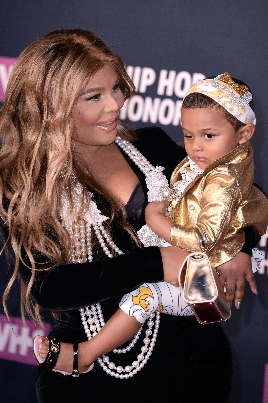 Lil Kim And Daughter On Red Carpet July 2016 Popsugar Celebrity