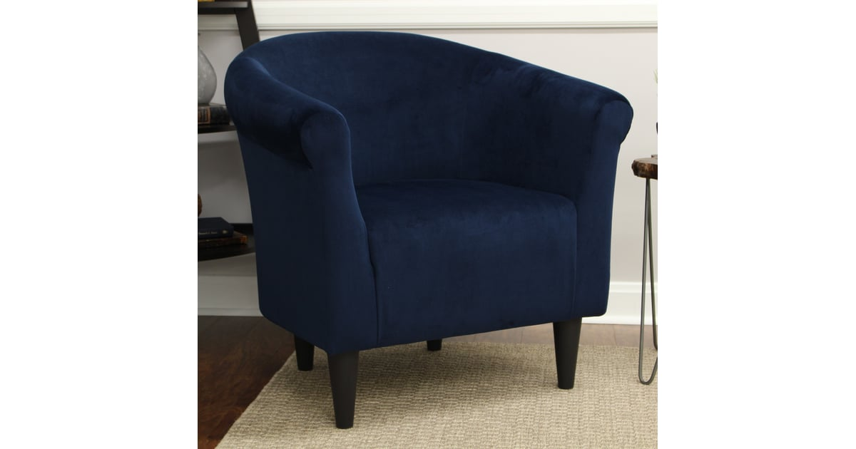 Mainstays Microfiber Bucket Accent Chair The Most