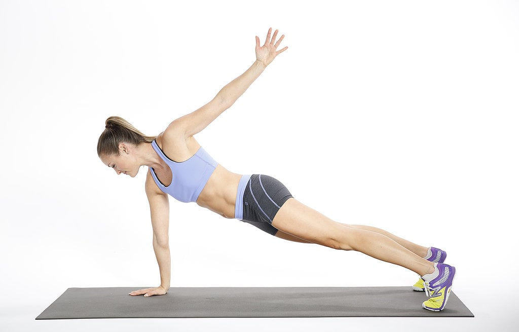 Core: Plank With Arm Circle